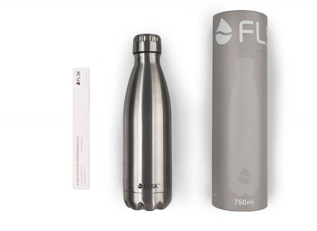 FLSK Isolier Trinkflasche mit Verpackung