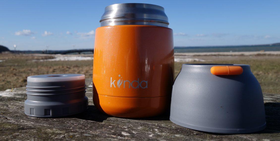 Kiinda Thermobehälter Test