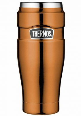 Thermos Trinkbecher Test Gold