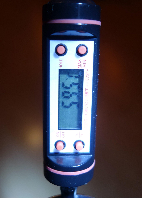 Outdoor DEPT Temperatur Test Ende