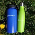 Zwei Sportastisch Thermosflaschen